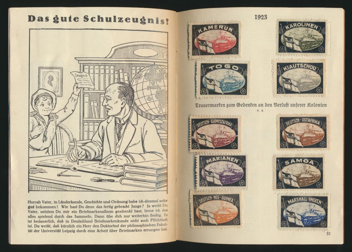 Dokumente aus Deutschlands schönsten und schwersten Tagen 33 Seiten mit Kolonien 2