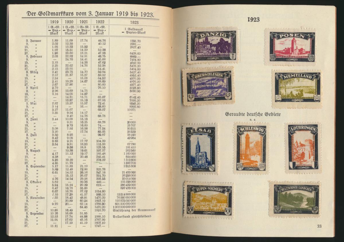 Dokumente aus Deutschlands schönsten und schwersten Tagen 33 Seiten mit Kolonien 3
