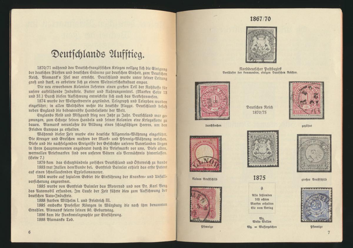 Dokumente aus Deutschlands schönsten und schwersten Tagen 33 Seiten mit Kolonien 6