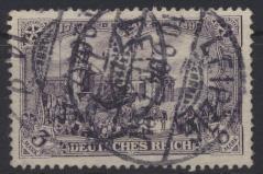 Deutsches Reich 80 A 3 Mark Kaiserreich sauber gestempelt Leipzig Kat-Wert 35,00 0