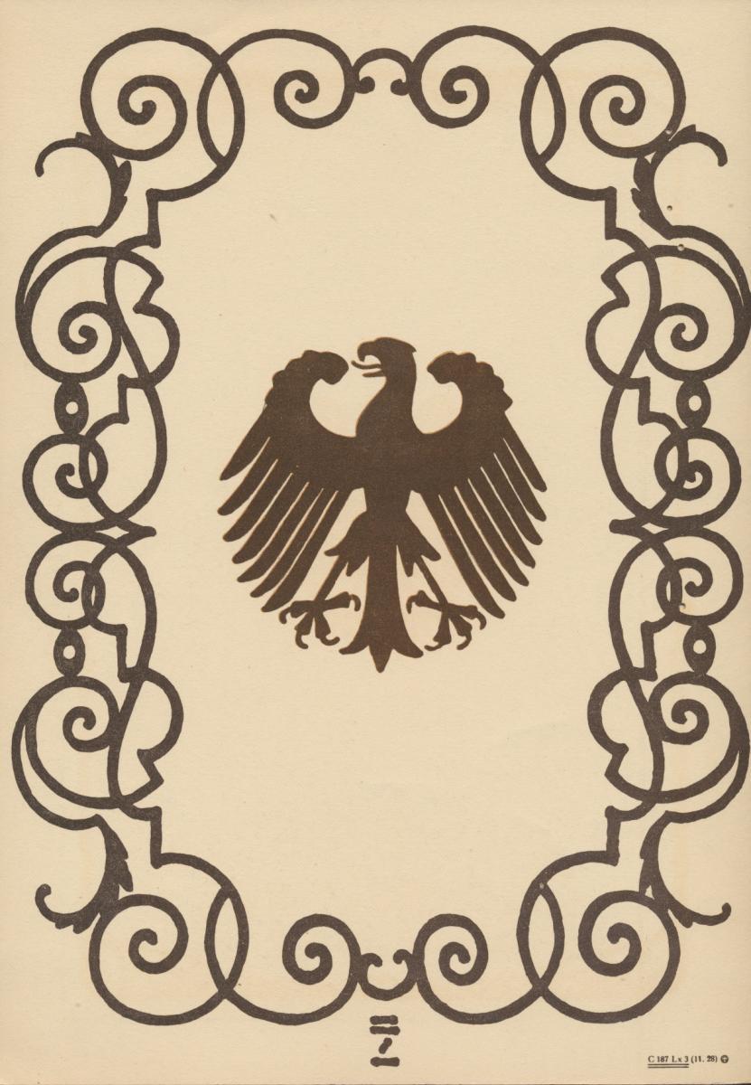 Deutsches Reich Gutes Lot Schmuckblatt Telegramme zur Zeit des 3. Reiches 7 St. 1