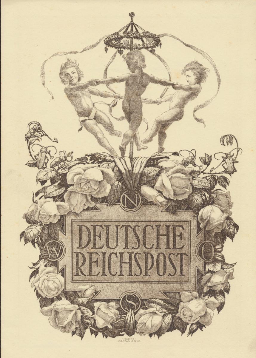 Deutsches Reich Gutes Lot Schmuckblatt Telegramme zur Zeit des 3. Reiches 8 St. 4