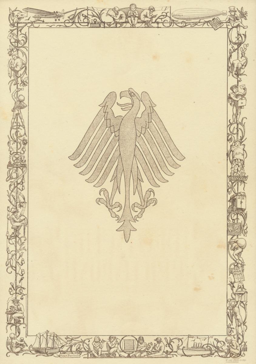 Deutsches Reich Gutes Lot Schmuckblatt Telegramme zur Zeit des 3. Reiches 8 St. 5
