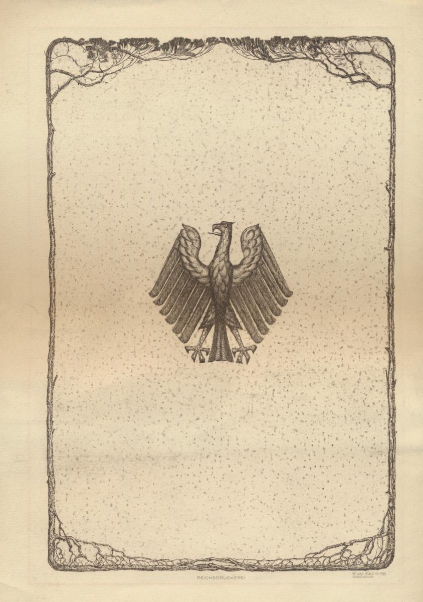 Deutsches Reich Gutes Lot Schmuckblatt Telegramme zur Zeit des 3. Reiches 8 St. 9