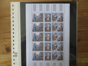 Monaco 1470-2 Kleinbogen 5 Dreierstreifen 15 Mk. Luxus postfrisch Mozart Musik