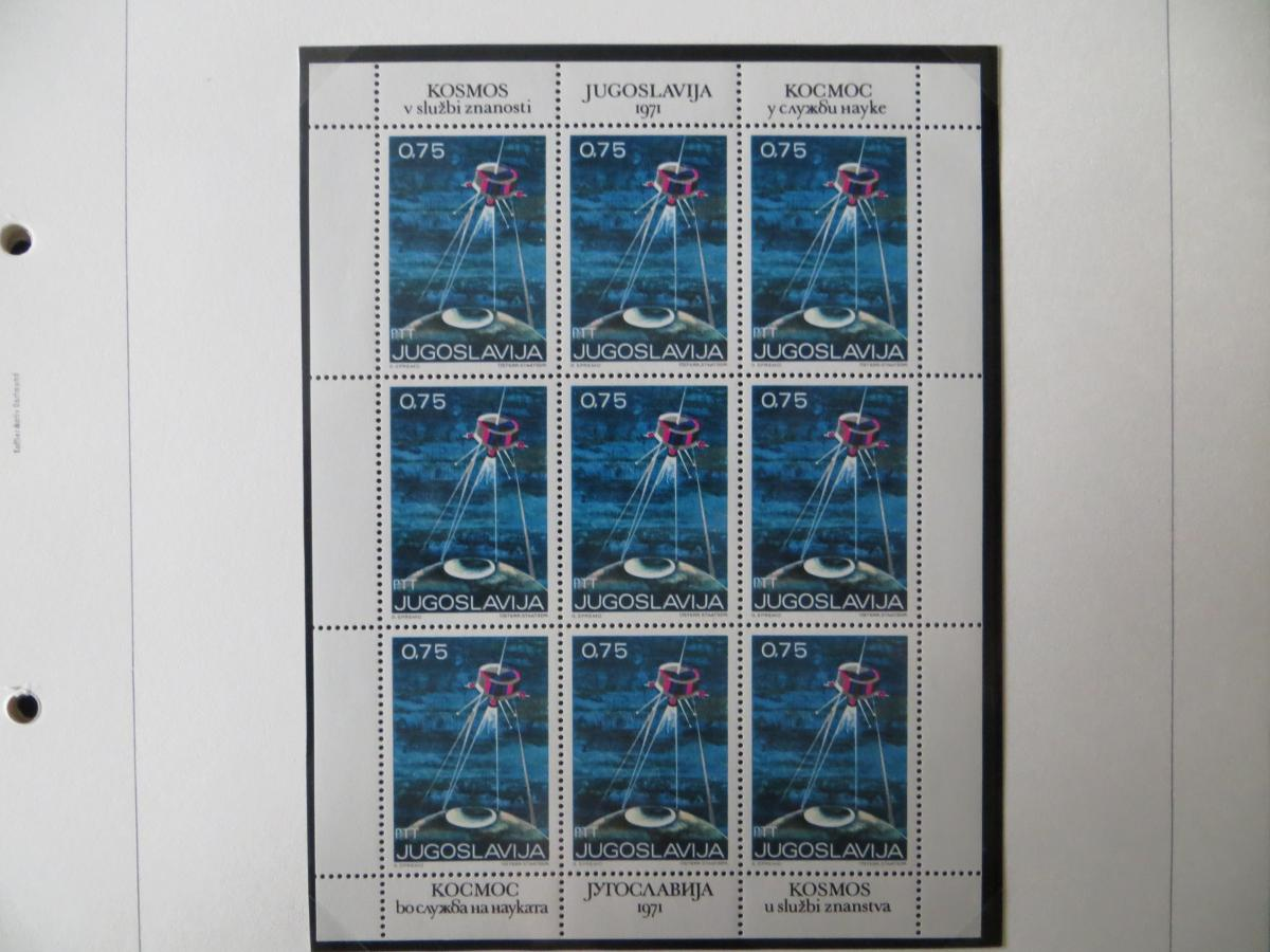 Jugoslawien Sammlung Kleinbogen 1969-1972 Luxsus postfrisch incl. den guten 14