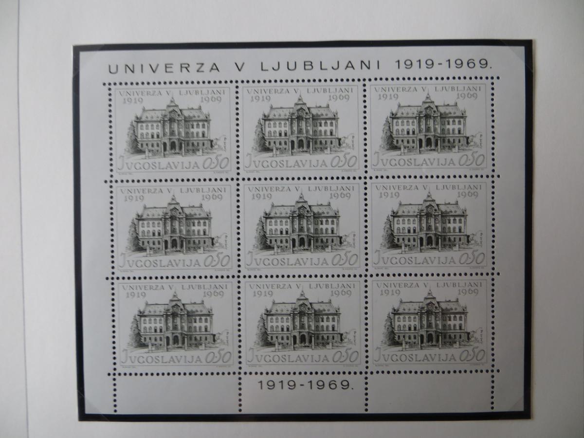 Jugoslawien Sammlung Kleinbogen 1969-1972 Luxsus postfrisch incl. den guten 3