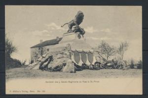 Militaria Ansichtskarte Denkmal 3. Garde Regiment zu Fuss bei St. Privat
