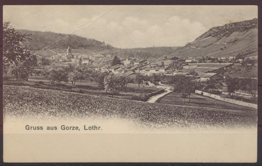 Ansichtskarte Frankreich Gorze Lothringen Département Moselle Region Grand 0