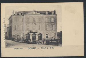 Ansichtskarte Frankreich Gorze Lothringen Stadthaus Hotel de Ville Verlag Müller