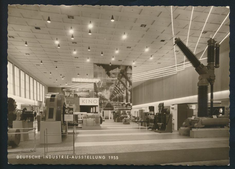 Bund 217-218 Westropa Briefmarkenausstellung SST Berlin Industrie-Ausstellung  1
