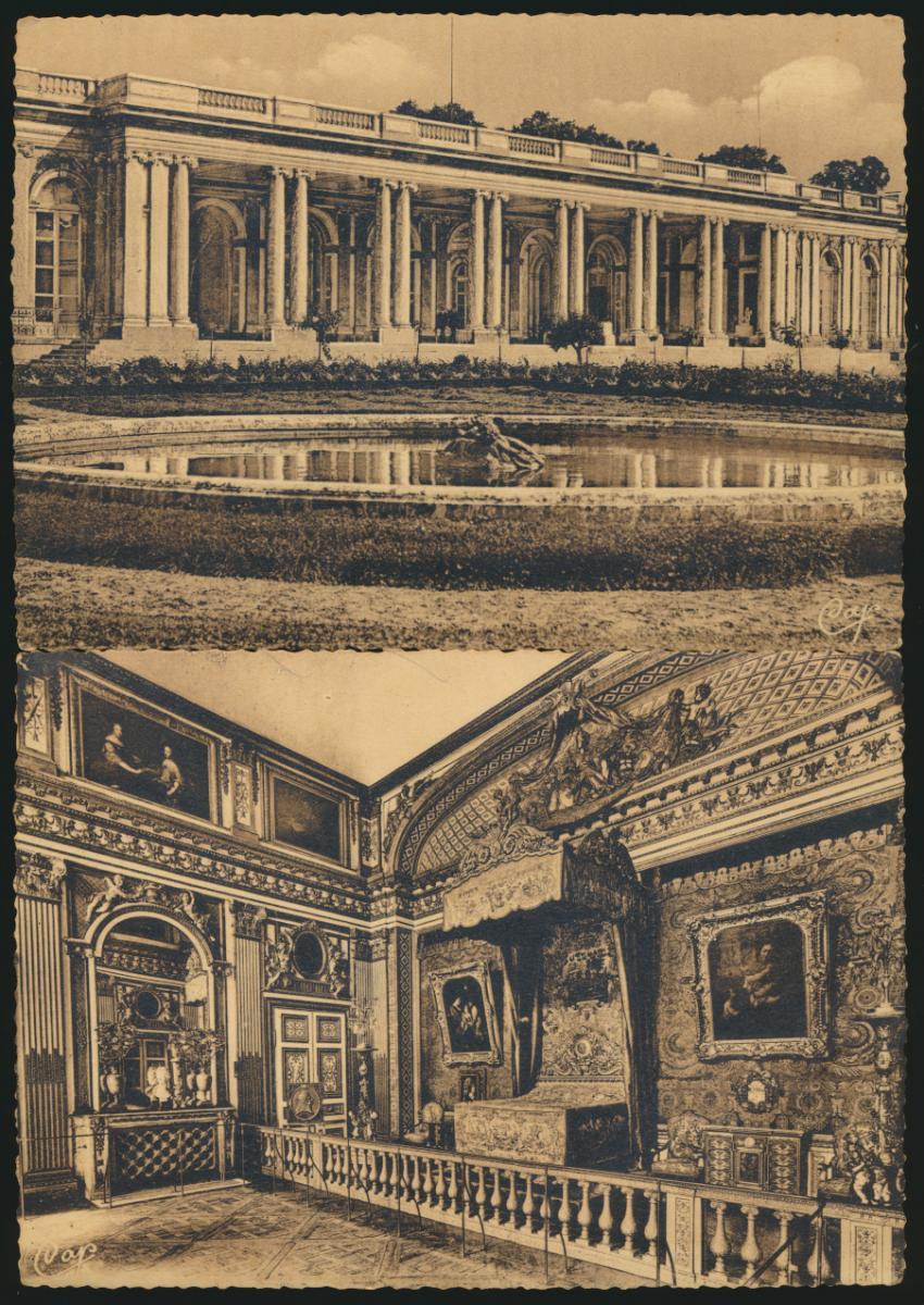 7 Ansichtskarten Frankreich Schloss Versailles ungelaufen 1