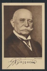 Ansichtskarte Reichsausschusses für die Zeppelin Eckener Spende Portrait