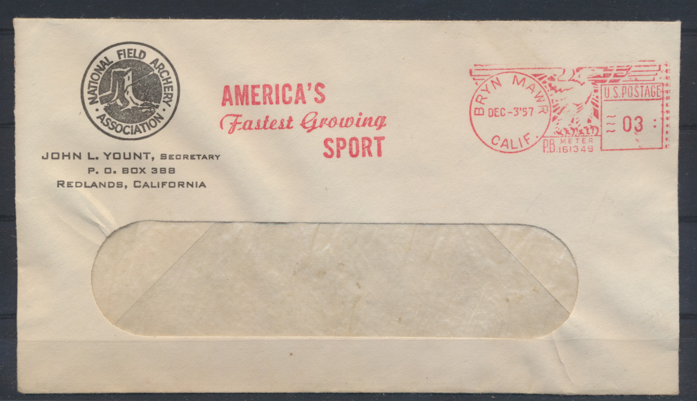 USA Freistempel Motiv Sport Bryn Mawr Kalifornien Sport of Man Since Time began 0