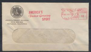 USA Freistempel Motiv Sport Bryn Mawr Kalifornien Sport of Man Since Time began