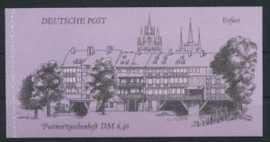 DDR Markenheftchen MH 10 Bauwerke + Denkmäler Luxus postfrisch