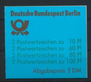 Berlin Markenheftchen 15 oZ Sehenswürdigkeiten 1989 Luxus gestempelt Kat. 120,00