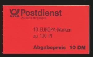 Bund Markenheftchen MH 30 oZ Europa 94 Luxus postfrisch Kat.-Wert 19,00