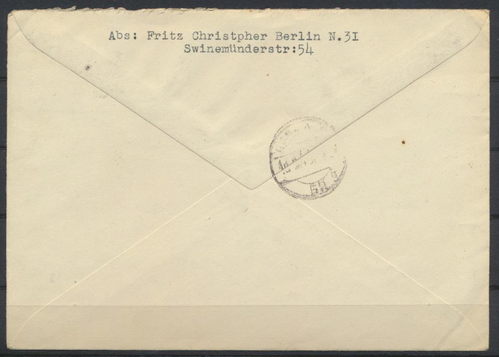 SBZ Berlin 1-8 Absender Tobis Filmkunst 16.5.1946 1
