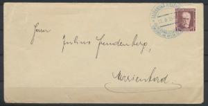 Tschechoslowakei Brief mit SST Motiv Wintersport Ski 1935