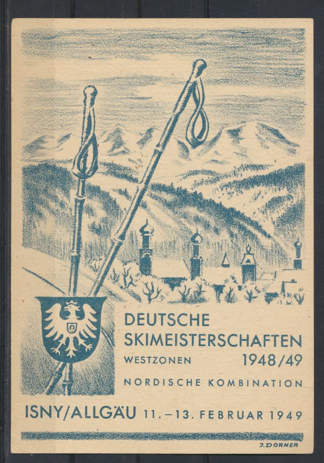 Besetzung Franz Zone Württemberg 38 yII Isny Skimeisterschaften Weingarten tolle 1