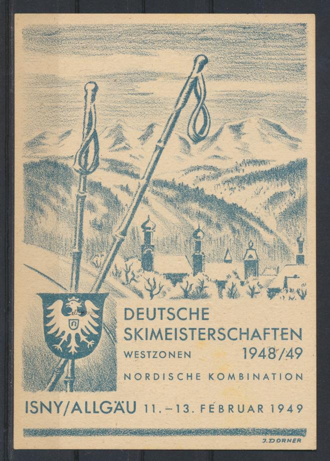Besetzung Franz Zone Württemberg 38 xII Isny Skimeisterschaften Weingarten tolle 0