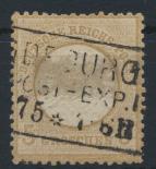 Deutsches Reich Brustschild 22 via Bahnpost Magdeburg Kat.-Wert 40,00 0