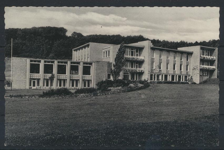 Ansichtskarte Erholungsheim Schulverein Hamburg Haus vor dem Süntel n Winterhude 0