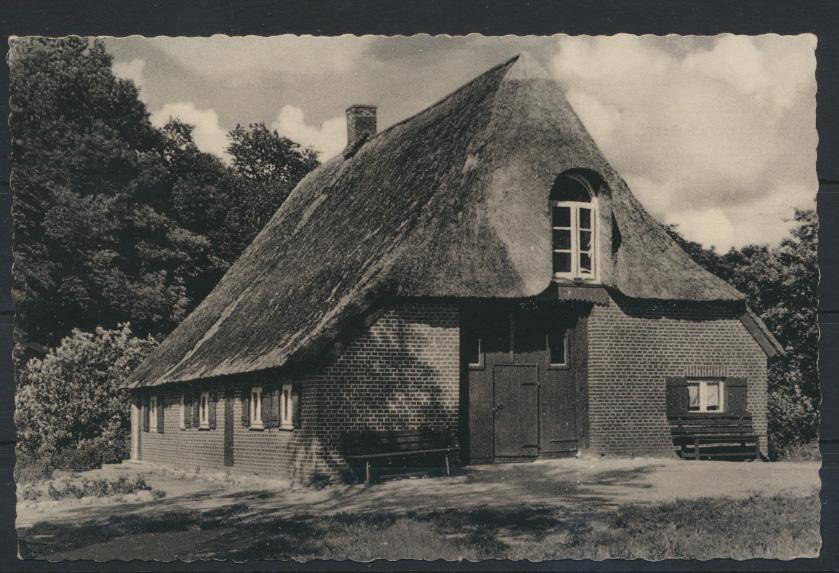 Ansichtskarte Jugendheim Methorst Post Bokelhorn Rendsburg Holst Landpoststempel 0