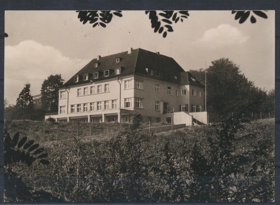 Ansichtskarte Jugendherberge Bad Godesberg 1.9.1964 nach Hamburg Altona 0