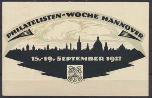 Reich Privatganzsache PP 61 C 4 03 Hannover Philatelie mit entspr. SST