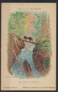 Frankreich Litographie Illustration Fables de Lafotaine von Gustave DORE 3 Stück