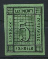 Österreich Privatpost Leitmeritz Express Compagnie Ed. Hofer ungebraucht 0