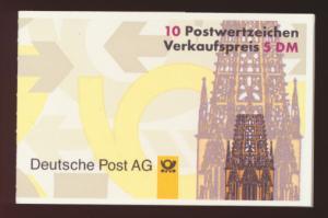 Bund Markenheftchen 34 IIoZ Kinderzeitschrift Salto Luxus postfrisch Kat. 14,00