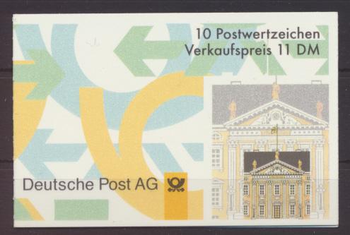 Bund Markenheftchen 35 I oZ Luxus postfrisch MNH Kat.-Wert 12,00 0