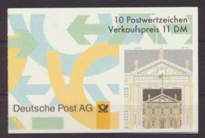 Bund Markenheftchen 35 I oZ Luxus postfrisch MNH Kat.-Wert 12,00