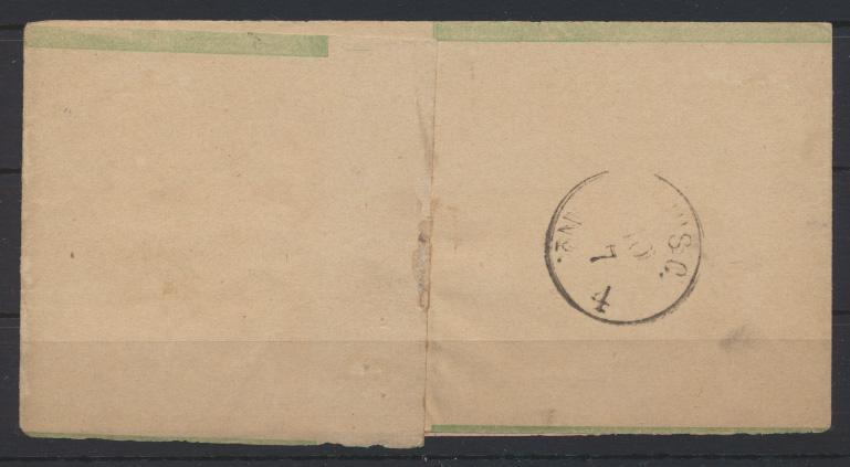 Norddeutscher Bund Streifband S 1 mit gutem R3 BERLIN PE 34 OSTBAHNHOF n Potsdam 1