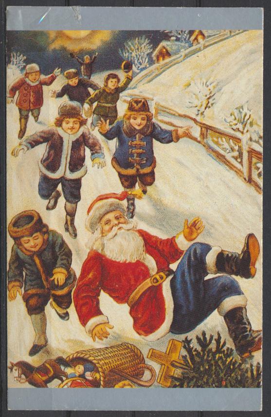 Weihnachten Weihnachtsmann Nikolaus Kinder Spielsachen roterMantel 0