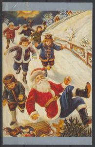 Weihnachten Weihnachtsmann Nikolaus Kinder Spielsachen roterMantel