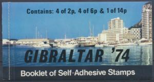 Europa Gibraltar Markenheftchen 1 310-312 Weltpostverein UPU Luxus postfrisch