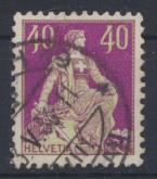 Schweiz 101 x Sitzende Helvetia gestemeplt Kat.-Wert 110,00