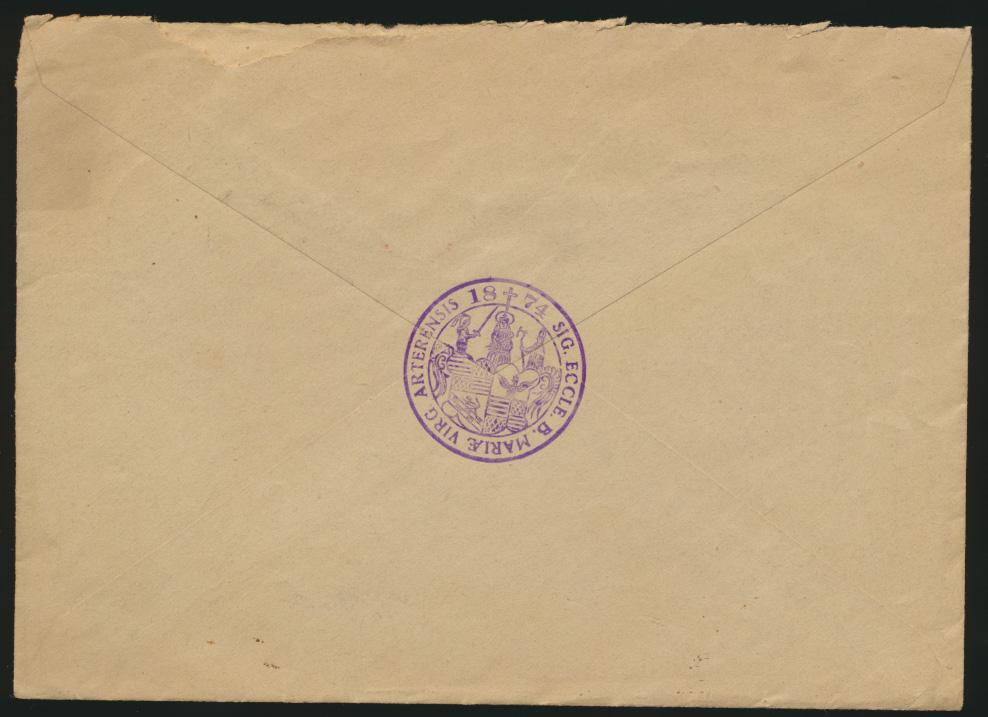 Deutsches Reich Brief portopflichtige Dienstsache Artern 8.7.1936 mit Nachgbühr  1