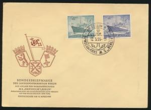 Berlin Brief FDC 1955