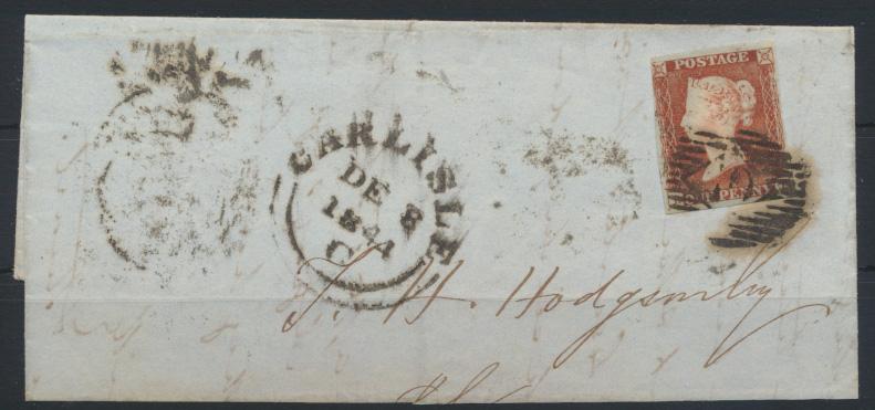 Großbritannien EF Queen Victoria ab CARLISLE rs. K1 TJ 7.DE.1844 0