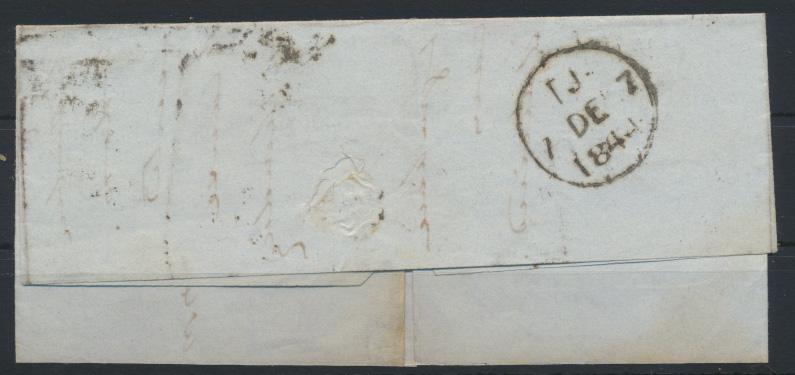 Großbritannien EF Queen Victoria ab CARLISLE rs. K1 TJ 7.DE.1844 1