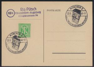 Besetzung Gemeinschaft 2x schöner SST Leistungsschau Wirtschaft München 1946 auf