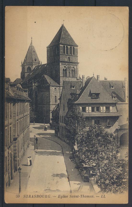 Ansichtskarte Frankreich Strassburg France Strasbourg pictures postcard 0