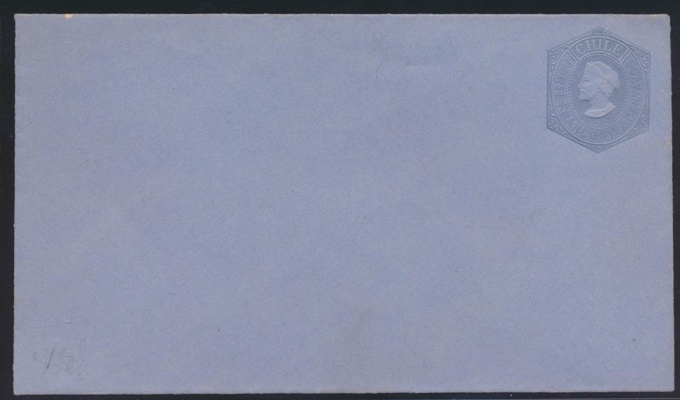 Chile Ganzsache Umschalg 10 c postal postal stationery  0