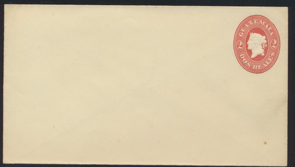 Guatemala Ganzsache 2 d postal stationary  0
