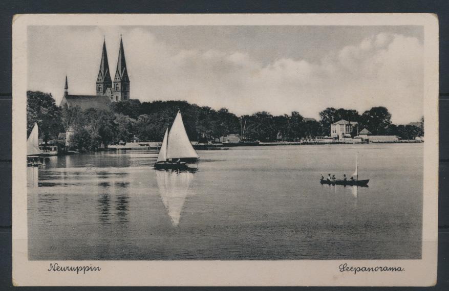 Ansichtskarte Neuruppin Seepanorama Brandenburg 0